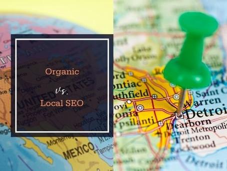 Organic vs. Local SEO