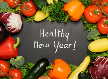 Happy New Year-Here's to Health!