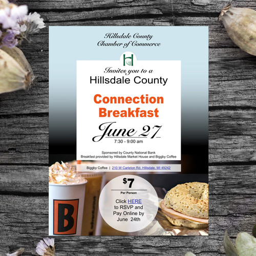 Hillsdale CofC flyer on wood.jpg