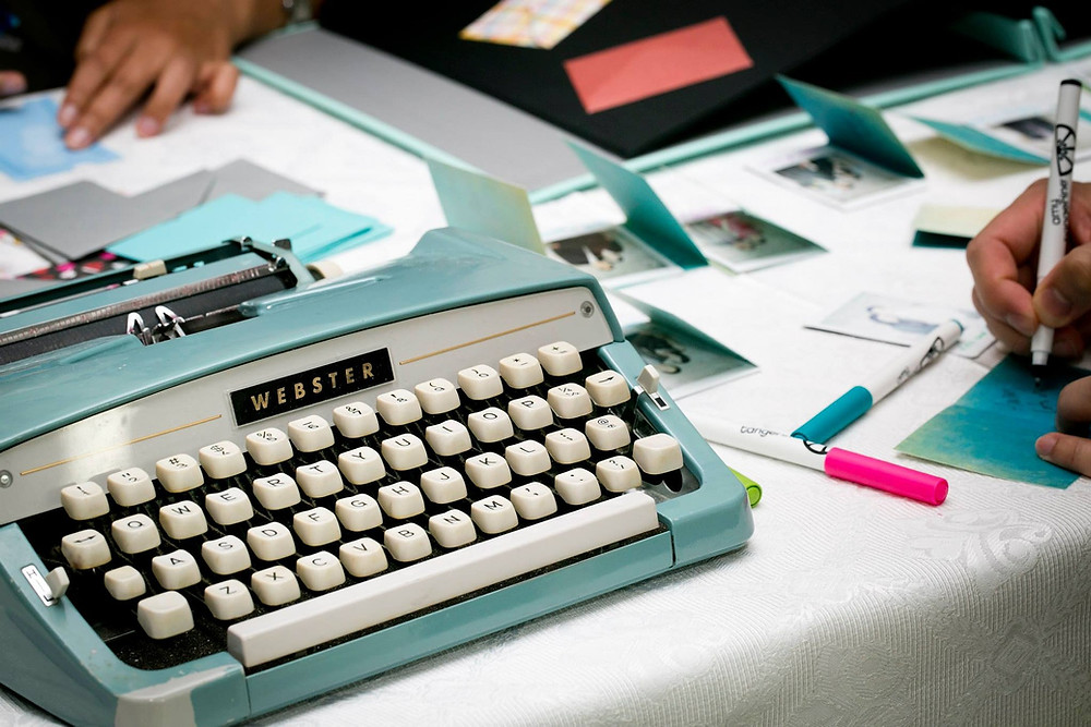 Typewriter, Notes, Planning
