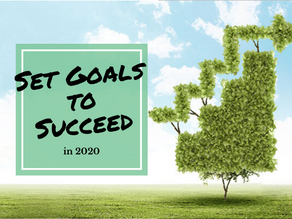 Set Goals to Succeed in 2020