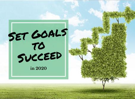 Set Goals to Succeed in 2020