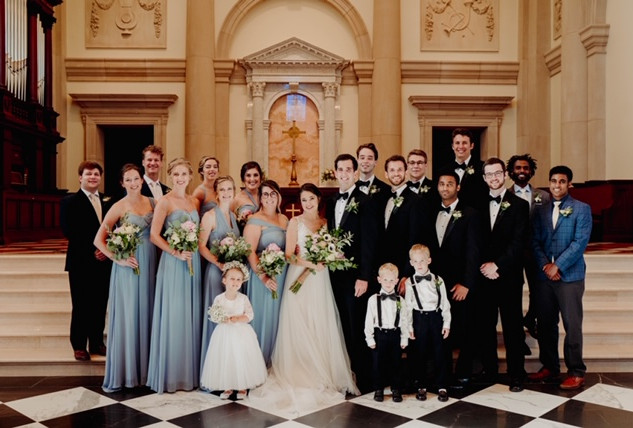 Green Wedding_Only by His Strength Photo