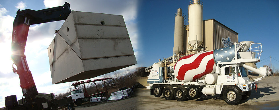 Becker & Scrivens Redi Mix Concrete Supplier
