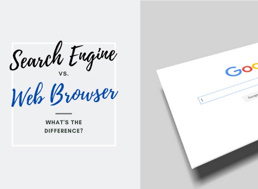 Browser Vs. Search Engine–What's the difference?