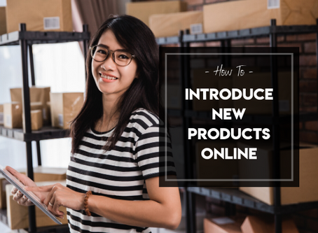 How to Introduce New Products Online