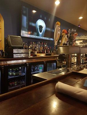 Bar Area of Olivia's Chop House