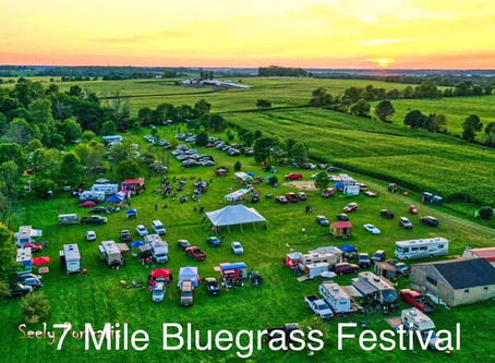 Paige Capo to Attend the 2nd Annual 7 Mile Bluegrass Festival / Canned Food Drive
