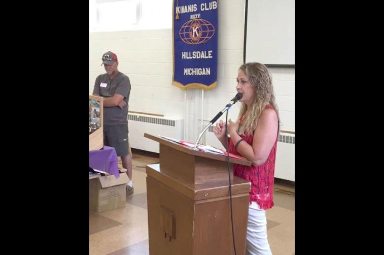 Speakers at Kiwanis Club Hillsdale MI