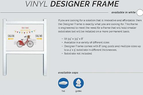 Vinyl Designer Frame