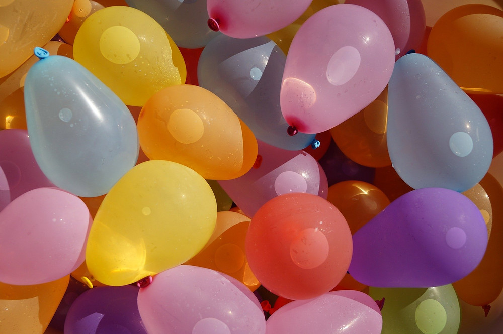 Colorful Water Balloons