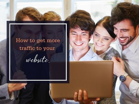 How to get more traffic to your website.