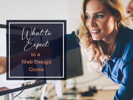 What to Expect in a Web Design Quote