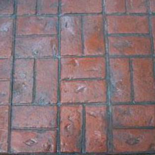 Basketweave Brick Finish