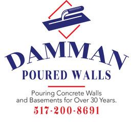 Damman Poured Walls