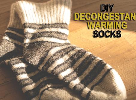Decongestant Warming Socks