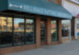 Hillsdale Natual Grocery Store Front