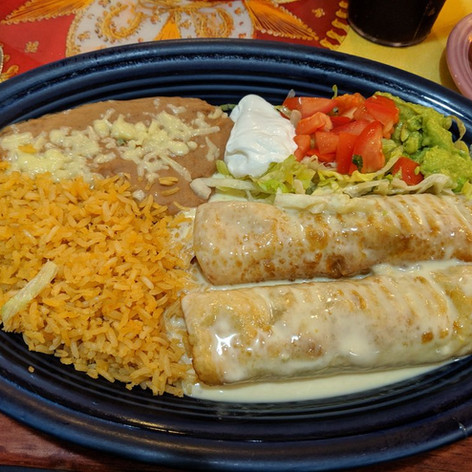 Chicken & Beef Chimichangas