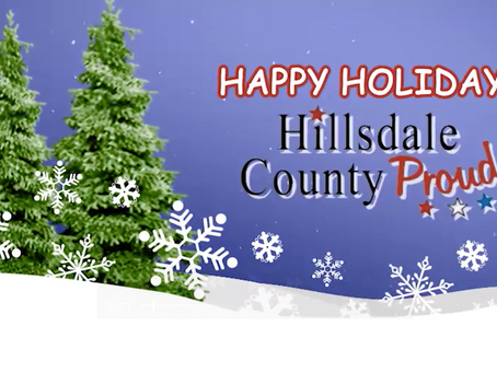 Happy Holidays from Hillsdale County