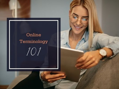 Online & Marketing Terminology 101
