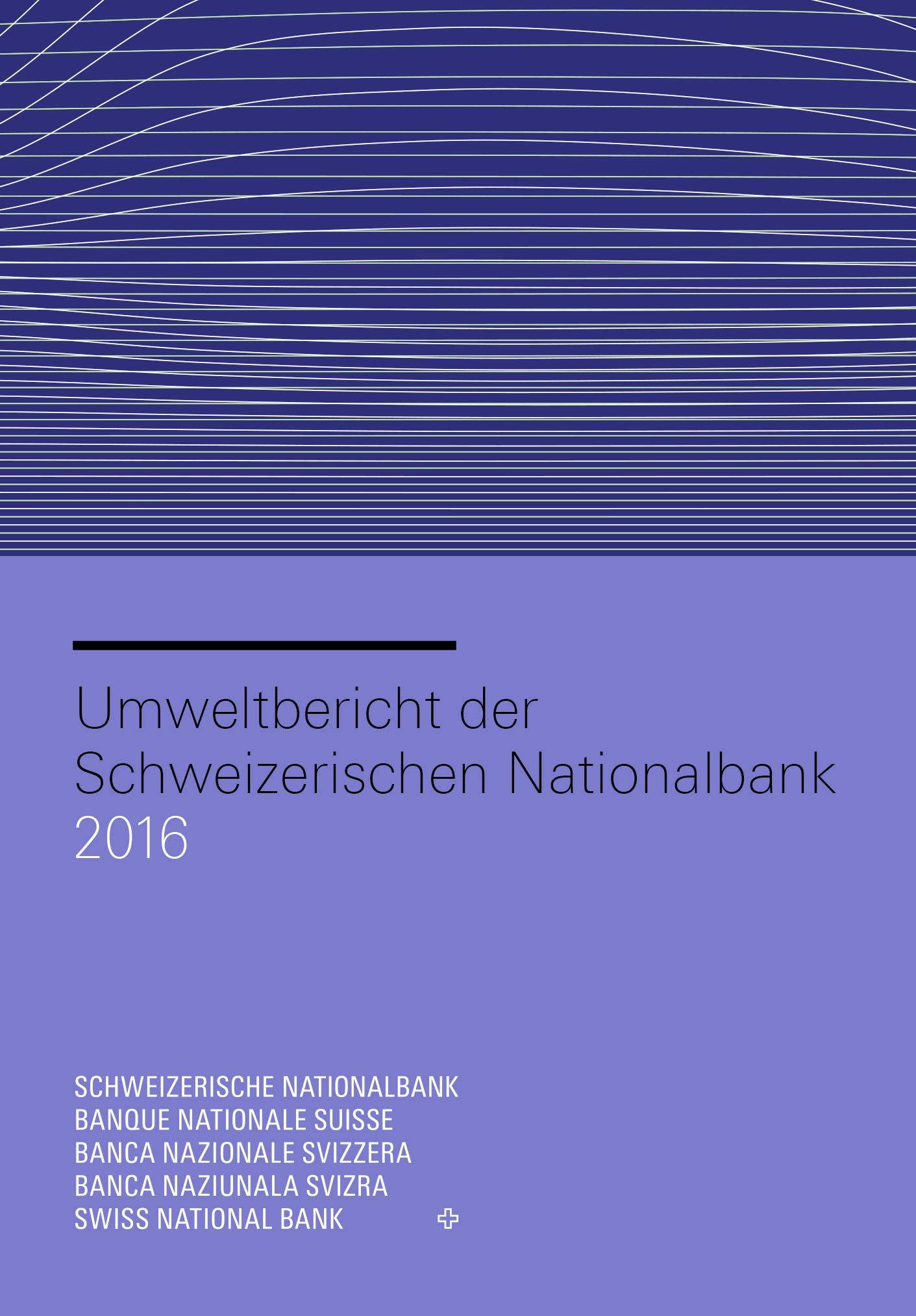 SNB - Umweltbericht