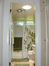 Bathroom solartube
