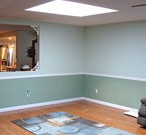 living room rug skylight