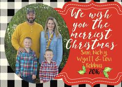 Robbins Christmas Card 2016 FRONT final2