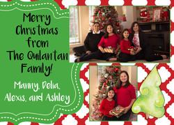Delia Christmas Card Colorful