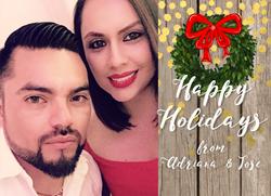 Adriana Christmas Card Horizontal
