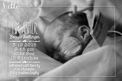 Asher Birth Announcement