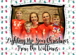 Williams Christmas Card FRONT