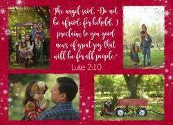 Mata Christmas Card BACK
