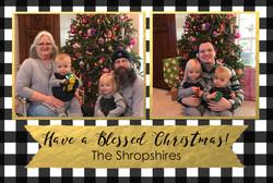 Shropshire Christmas Card