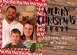 AWP Hollinger Christmas Card