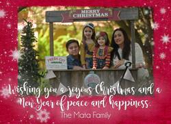 Mata Christmas Card FRONT