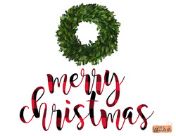 Buffalo Plaid Merry Christmas WATERMARK