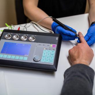 IMEDIS - Vega Test metodą Volla, Schimmela, diagnostyka segmentarna SGD.