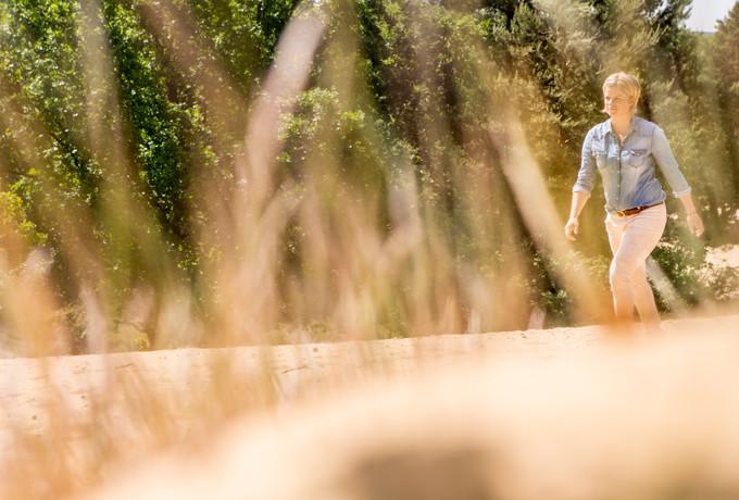 Kim Clijsters op de Oudsberg