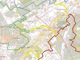 200 km mountainbiken van Duinengordel tot in Lanaken