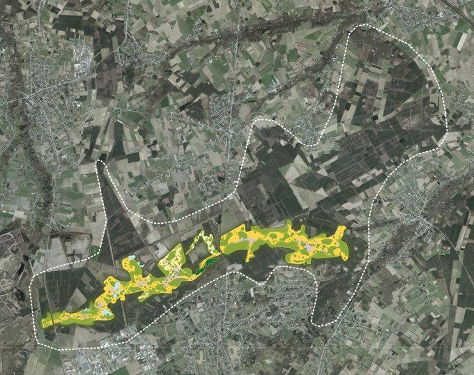 Toekomstbeeld landschap Duinengordel