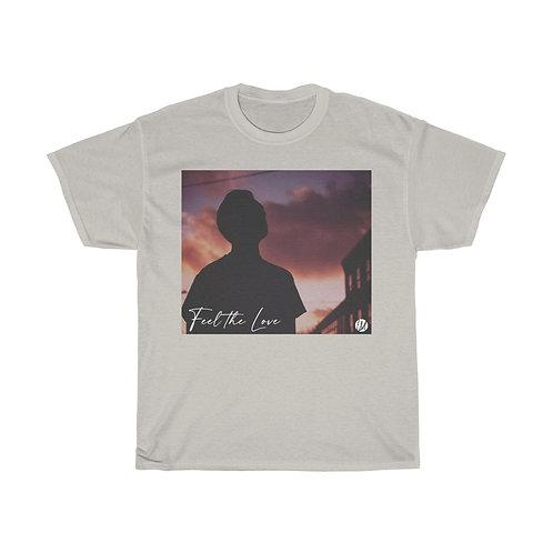 'Feel the Love' Silhouette T-shirt