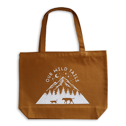 Our Wild Tails Tote