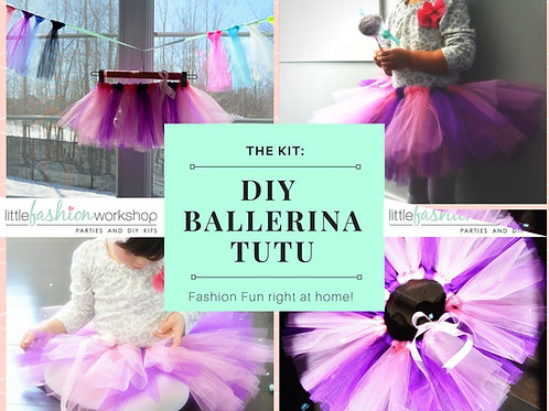 Ballerina Kit for 1 {Make your own tutu}