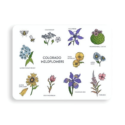 Colorado Wildflowers Sticker