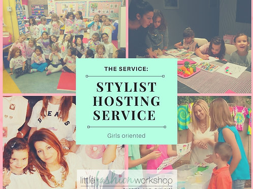 Party including Host Service {9 to 14 yrs old girls}