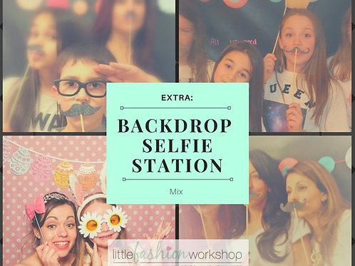 Backdrop Selfie Station add-on