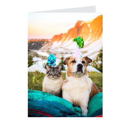 Happy Birthday Card - Wyoming
