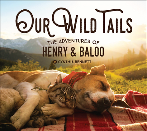 Book SIGNED by Henry & Baloo: Our Wild Tails The Adventures of Henry and Baloo