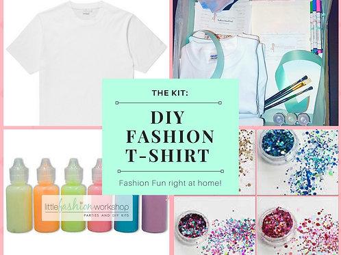 Artist Kit for 6 {Fabric Paint & Glitter}
